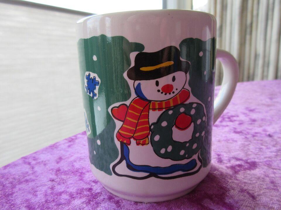 Porcelæn, Krus med hank, med snemand