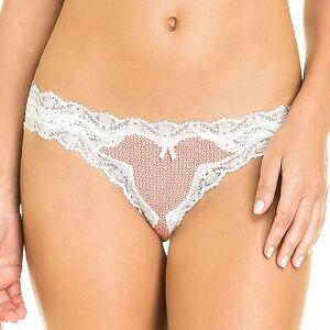 b41f400b8364 Image is loading White-Lace-Brazilian-Panties-Women-039-s-Cheeky-
