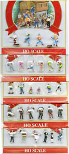 Model-Power-57041-HO-Scale-Action-amp-Working-People-30-Hand-Painted-Figures-NEW
