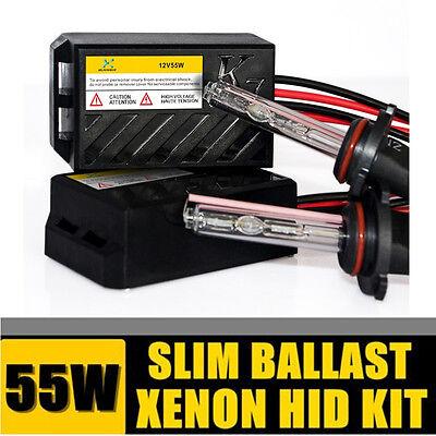 55W HID Xenon Conversion Kit Headlight AC H1 H3 H7 H8 H10 H11 9005 9006 HB3 HB4