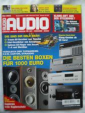 AUDIO 5/02 ACCUPHASE E 212,CAYIN CD 12 A,MT 12 A,YAMAHA DSP AZ 1,CDR HD 1000
