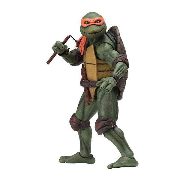 Neca Teenage Mutant Ninja Turtles 90s Movie Michelangelo Gamestop