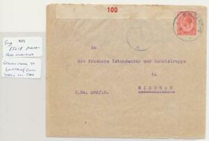 South-West-Afrique-1918-Censure-Housse-Rare-Maltahoh-Cds-039-Windhk-Voir