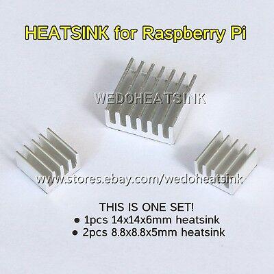 9pcs (3sets) Aluminum Heatsink Heat Sinks Cooler Kits For Cooling Raspberry Pi