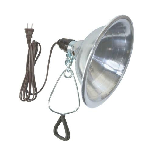 UL Listed 6- Foot Cord Woods Clamp Lamp Light with Aluminum Reflector 150W