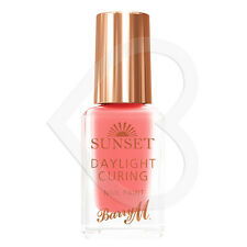 Barry M Sunset Daylight Curing Nail Paint - Peach for the Stars SSNP4 Coral PInk
