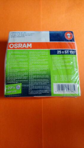 15 6 8 für Leuchtstoffröhren von 4 Osram 25x Starter ST 151 22 W 20 18