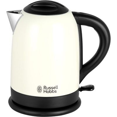 Russell Hobbs 20094 Dorchester Kettle Limescale Filter 3000 Watt Cream New from