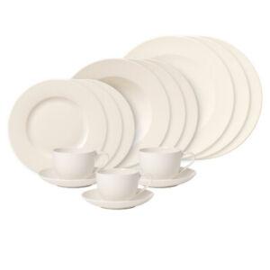 VILLEROY-amp-BOCH-For-Me-30tlg-Geschirr-Set-Tafelservice-Teller-Kaffee-Tassen