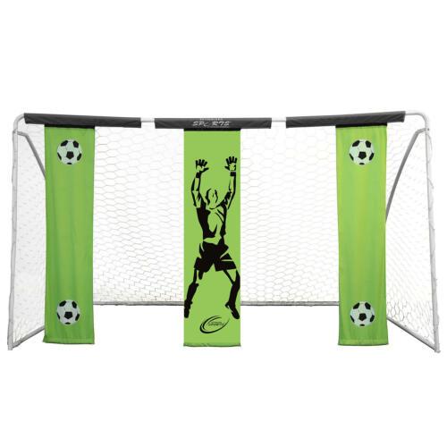 Skywalker Sports 12/' x 7/' Soccer Goal Practice Banner Heavy Duty Steel Frame