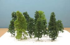 Jordan Scenic HO Gauge Pack of 12 Natural Trees # 4B