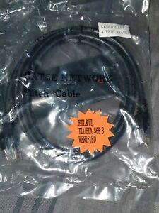 CAT5e-24-Gauge-Black-5-ft-350Mhz-UTP-Patch-Ethernet-Network-Cable-Wire-RJ45-LAN