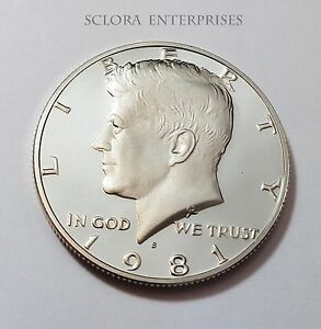 1978 S PROOF KENNEDY HALF DOLLARS SINGLE COINS
