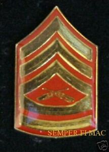GUNNERY-SERGEANT-GYSGT-E-7-LAPEL-HAT-PIN-UP-US-MARINES-VETERAN-GIFT-PROMOTION