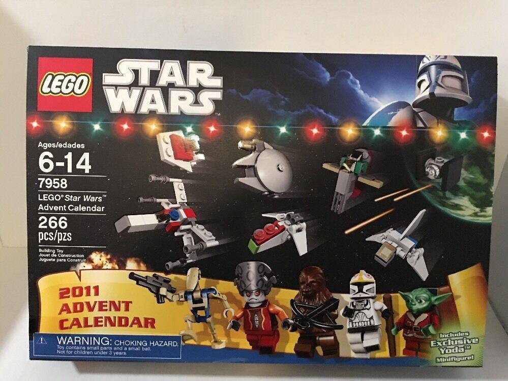 Nouveau LEGO STAR WARS 7958 ADVENT CALENDAR SET 2011