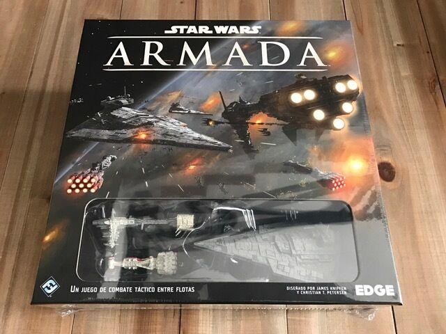 STAR WARS ARMADA - Caja básica -  EDGE - juego de combate táctico - Miniaturas  magasin d'usine