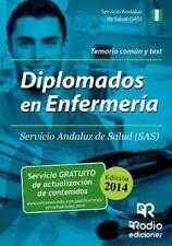 Diplomados en Enfermeria Servicio Andaluz de Salud(sas) Temario Comun y Test...