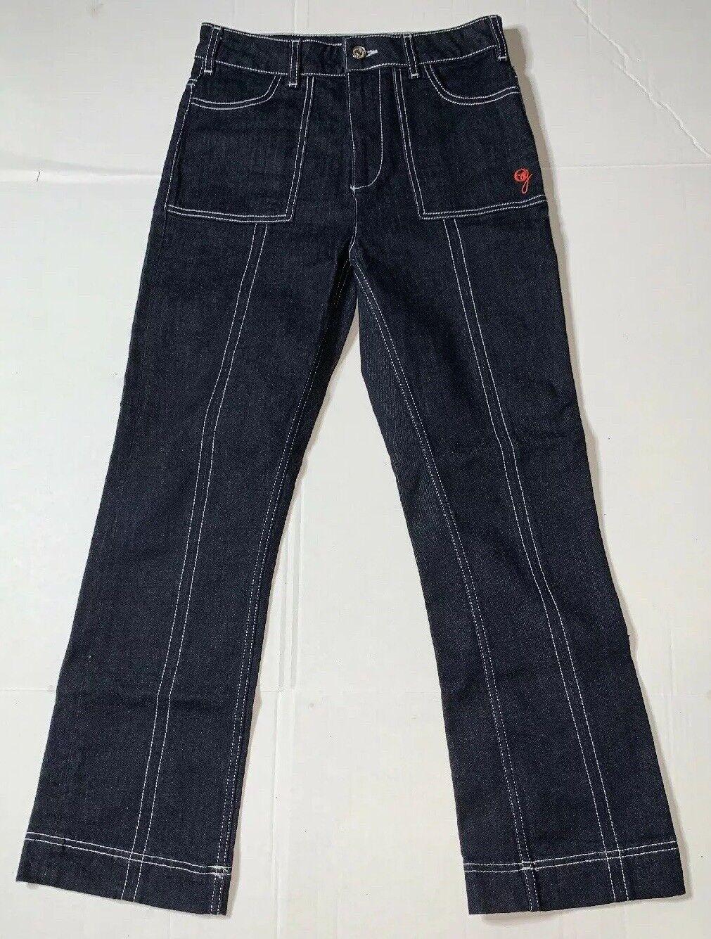 Preowned- Ganni 1676 Sheffield Denim Jeans Womens (Size 36)