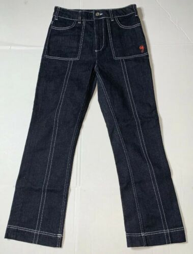 Preowned- Ganni 1676 Sheffield Denim Jeans Womens