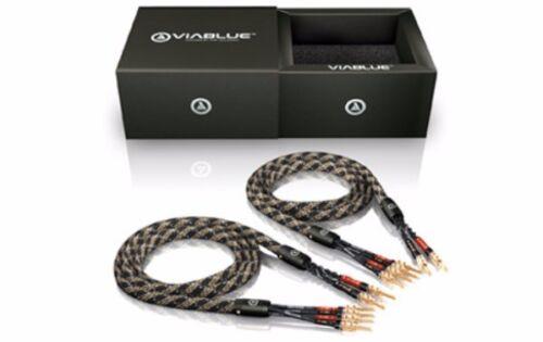 3,00m Viablue SC-4 Bi Wire mit TS Bananas 3,0m 1Paar