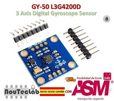 2X 2X GY-521 MPU-6050 Módulo de 3 ejes giroscopio + 3 ejes acelerómetro módulo S5M7