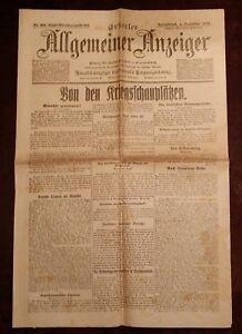 Erfurter-Allgemeiner-Indicador-4-Diciembre-1915-Historico-Diario-1-Weltkrieg