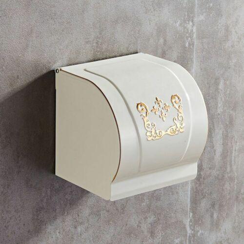 Waterproof Tissue Roll Holder Dispenser Wall Mount Toilet Paper Storage Box Case