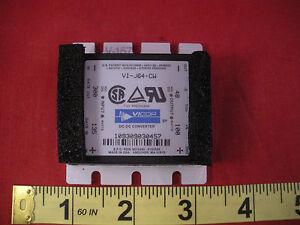 Vicor-VI-J64-CW-DC-to-DC-Converter-VIJ64CW-Input-300v-135w-Output-48v-100w
