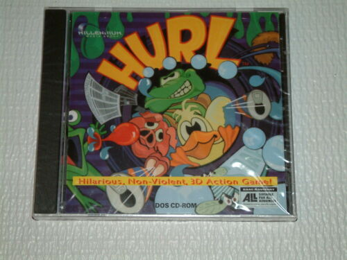 HURL 1995 Dos CDROM PC Computer Video Game SEALED