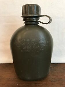 US Army Military Surplus Regulation 1QT Water Canteen HD1