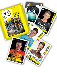 TOUR-DE-FRANCE-PANINI-2020-complete-set-stickers-and-cards-SET-COMPLETO