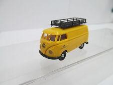 eso-13870Brekina 1:87 VW T1 Post mit minimale Gebrauchsspuren,winzige Kratzer