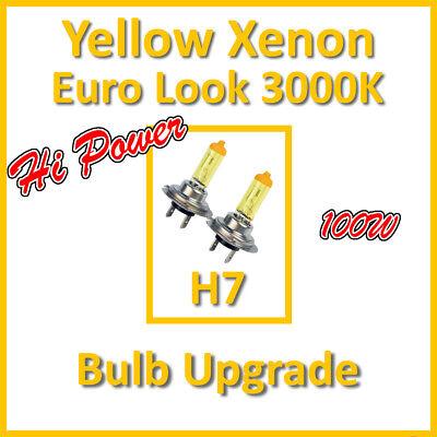 Ausdauernd 100w Hochleistung 3000k Xenon Scheinwerferbirne Haupt- Abblendlicht Oder H7 55w