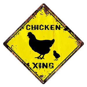 DS-0017-CHICKEN-XING-Diamond-Sign-Rustic-Chic-Sign-Shop-Home-Decor-Gift