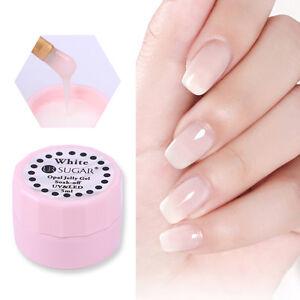 5ml-Opal-Jelly-Gel-Polish-Halb-transparente-Soak-Off-Nagel-Gellack-Manikuere-DIY