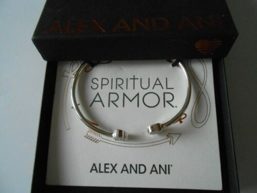 Alex and Ani CALAVERA Cuff Bracelet Sterling Silver New Tag Box Card