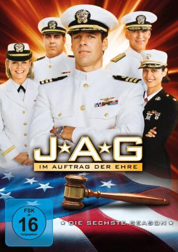 1 von 1 - 6 DVDs * JAG - IM AUFTRAG DER EHRE ~ STAFFEL / SEASON 6 # NEU OVP +