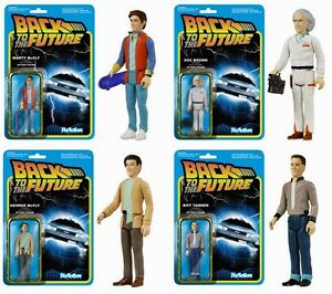 Back-to-the-Future-Zurueck-in-die-Zukunft-4-Figuren-Set-Reaction-3-3-4-Inch-Funko