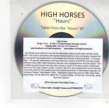(FS428) High Horses, Hours - 2014 DJ CD