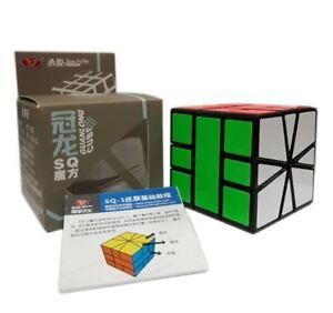 YJ-Guanlong-SQ1-New-Square-1-3X3-Speed-Rubik-039-s-Cube-Black