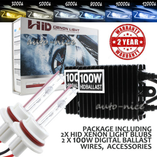 AC 75W 100W HID Kit H4 H7 H11 H13 9004 9005 9006 9007 Hi-Lo Bi-Xenon Headlight
