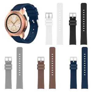 For-Samsung-Galaxy-Silicone-Watch-Band-Bracelet-Wrist-Strap-Replacemnt-20mm-22mm