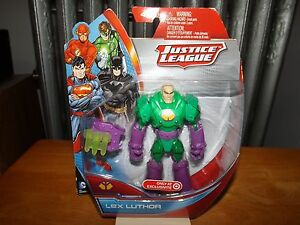 """Mattel 2013 Justice League Lex Luther  5/"""" Action Figure Brand New Sealed"""