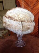 VINTAGE Genuine Men's Marmot Fur Hat ROMANIA authentic FREE SHIPPING