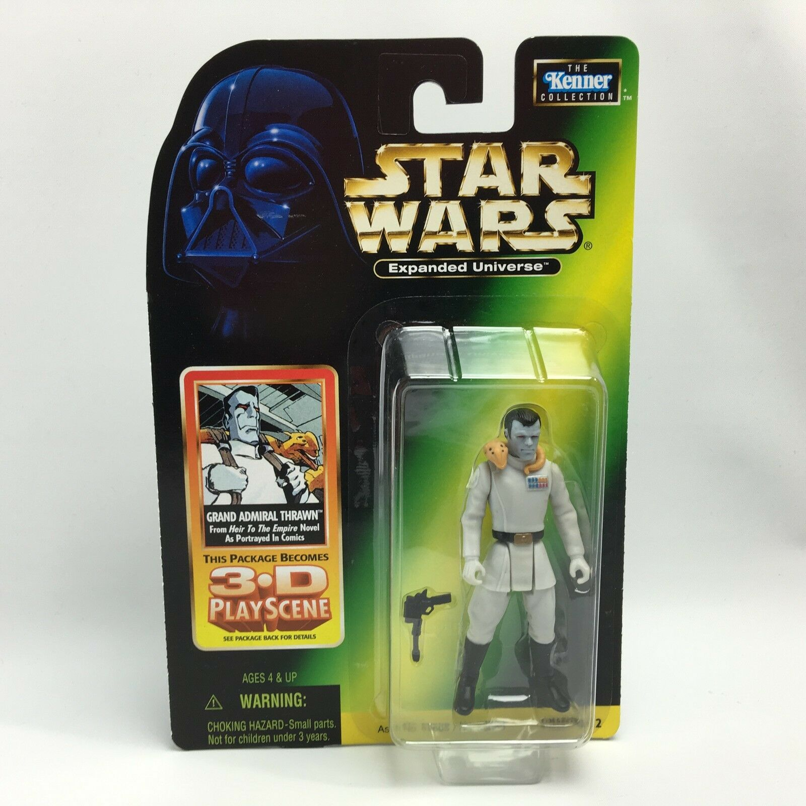 Star Wars Expanded Universe GRAND ADMIRAL THRAWN Figure Heir to the Empire