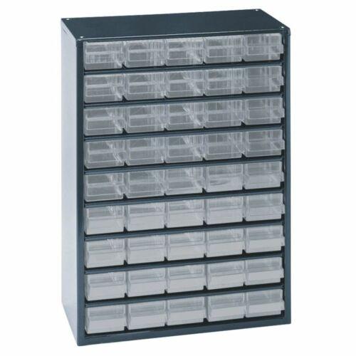 Raaco Casier de rangement 945-00 à 45 tiroirs 137454 Armoire à tiroirs