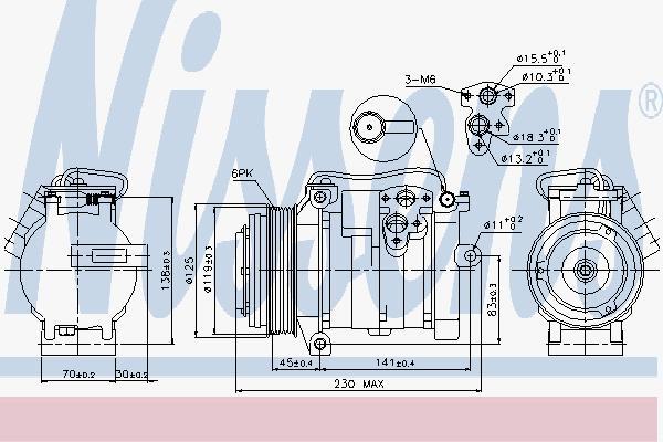 Heizung & Klimatechnik PRASCO JEK066 Klimaanlagen Wohnmobilausstattung