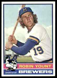 1976 Topps Robin Yount 2nd Year NICECENTERED Brewers #316 *Noles2148* Cs