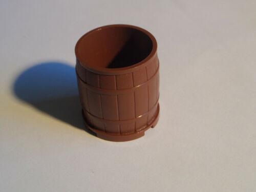 Lego 30139 Fass Tonne Barrel 4 x 4 x 3.5 rotbraun reddish brown 4566703