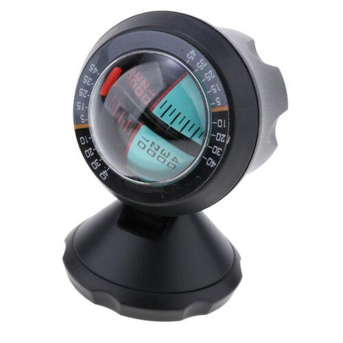 Car Compass Auto Slope Meter Level Declinometer Gradient Inclinometer